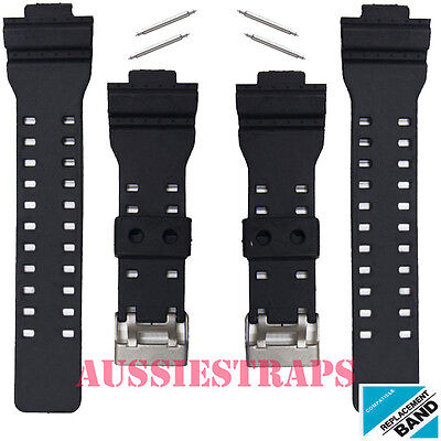 2 x WATCH BAND STRAP FITS CASIO G SHOCK GA-100 G-8900 GW-8900 PINS PIN gshock