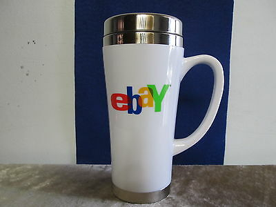 EBAY Insulated Travel Mug in White 15oz New in Box