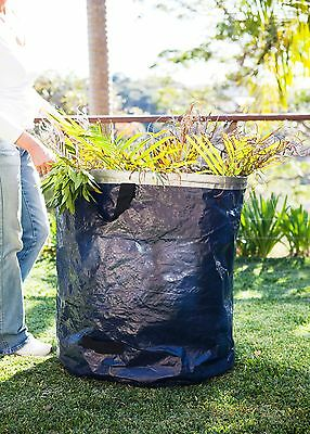 295 litre Garden Bag Waste Bag Refuse Garden Rubbish Bags - stay open ring