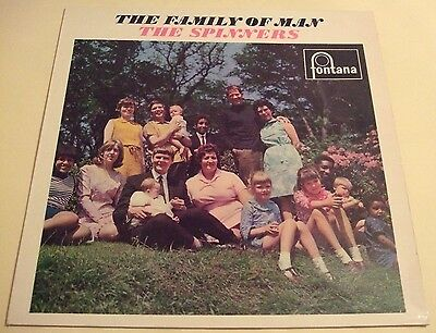 The Spinners 1966 Uk Lp - The Family Of Man
