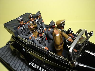 7  Figurines  1/43  Set 253  La  Parade  Fantastique   Vroom  Unpainted  Figures
