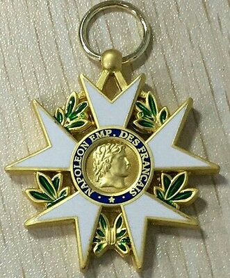 French Napoleon Legion of Honour 1802 1st type with ribbon - quality REPRO