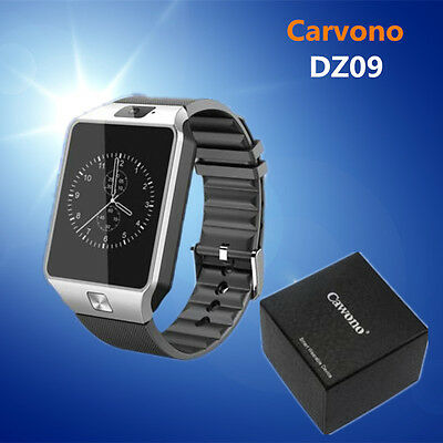 DZ09 Smart wrist Watch Bluetooth White Android IOS+Camera phone mate GSM SIM US