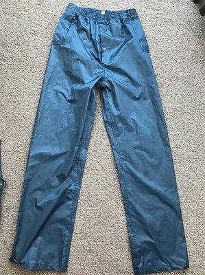 Waterproof Over Trousers Size 11-12