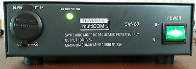 Sharman Multicom SM-23. Suitable For Ham Or CB Radio Users etc.
