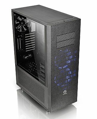 Thermaltake Core X71 Tempered Glass Riing Full Tower ATX Gaming Computer PC Case