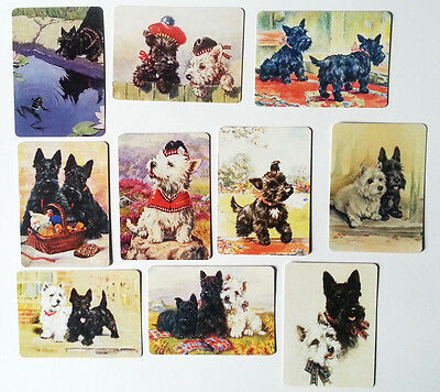 10 Terrier Dog  Swap / Playing Cards - Modern Wide