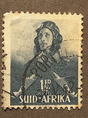 south africa postage stamp  1 1/2d