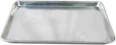 """Commercial Grade 18"""" x 13"""" Half Size Aluminum Sheet Pan for Baking Cookie NO TAX"""