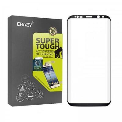 3D Full Coverage Tempered Glass Screen Protector for Galaxy S8 Plus