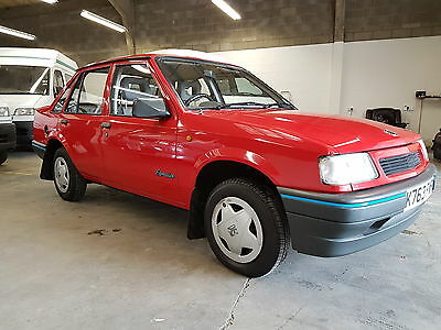 1992 Vauxhall Nova Expression Red