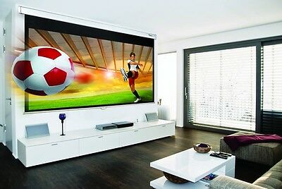"""NEW Optoma DS-9092PWC 92"""" Diagonal 16:9 Pull Down Projector Screen"""