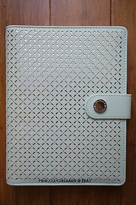 Forever New A5 large Milly laser cut planner Mint/Silver BRAND NEW