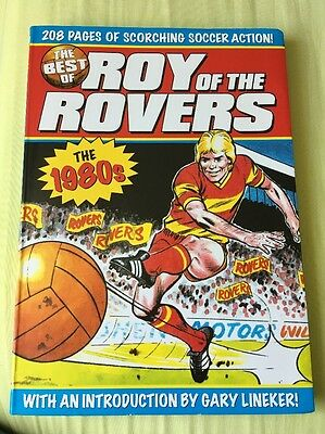 The Best Of Roy Of The Rovers The 1980s Paperback Book Intro By Gary Lineker!