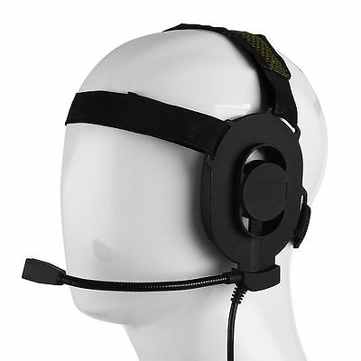 TYT For Baofeng Kenwood 2 Pin Radio Z Tactical Bowman Elite II Military Headset