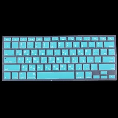 TECHNIC Baby Blue Colorized Apple Laptop Silicone Keyboard Protector Protective