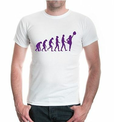 Herren T-Shirt The Evolution of cheerleading Tanzen American Football Basketball