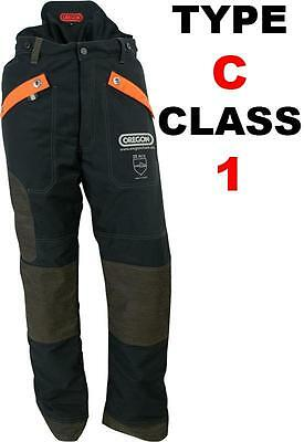 Oregon Waipoua Type C Protective Chain Saw Trousers, all round leg protection,