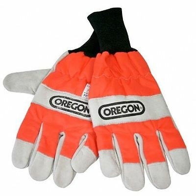 Oregon 295399 S M L XL Chainsaw Protective Gloves, CHOICE OF SIZE