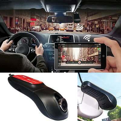 Full HD Wifi Car Hidden DVR Camera Dash Cam Video Recorder Night Vision G-Sensor