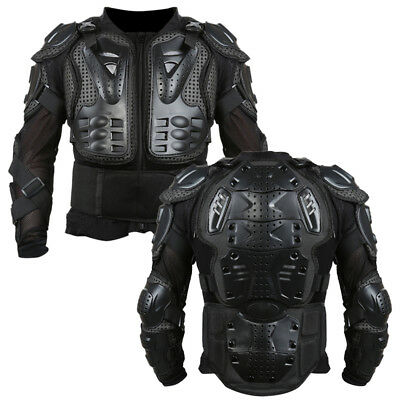 Motorcycle Full Body Armor Jacket Motocross Back Shoulder Protector S-XL fo12