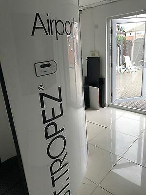 st tropez airport spray tanning booth