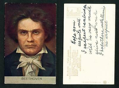 Music – Beethoven – Foreign Postcard