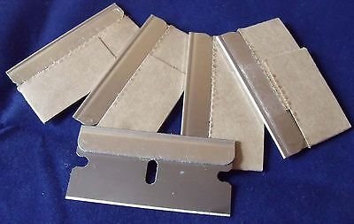 12+3 FREE Replacement Razor Scraper Blades for Glass Paint Auto Hob Craft use.