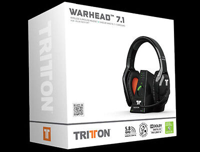 Tritton Warhead 7.1 Inalambricos Xbox (Pc, Ps) - Nuevos Sellados Precintados