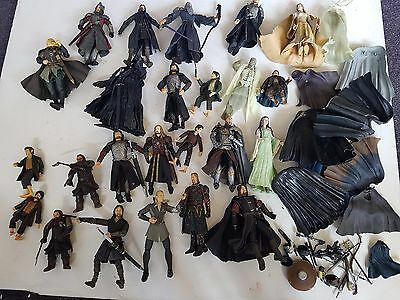 Job Lot Bundle Of 24x Lord Of The Rings Figures & Accessories, Trusted Ebay Shop