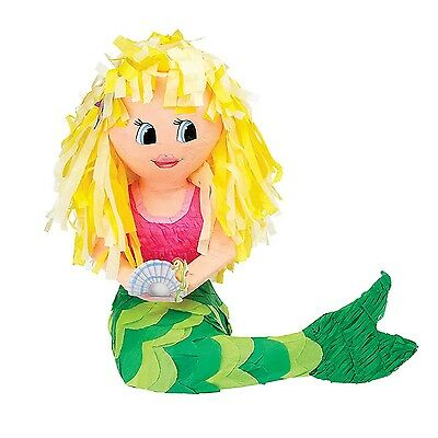 Mermaid | Sea Horse | Shell | Pearl Party Pinata | Game