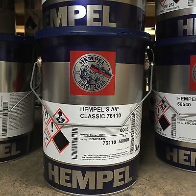 Hempel Classic Antifouling 5 Ltr BOAT PAINT YACHT RED PAINTS AND COATINGS