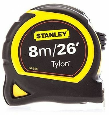 Stanley 8m/26ft Pocket Tape Measure with Tylon Blade 30-656 ** New**