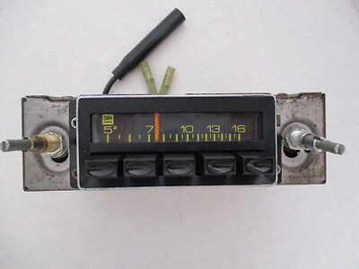 Holden Lx Torana Phillips Lp40 Push Button Radio Sl Ss Slr