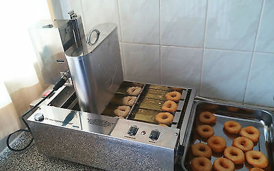 **1750 d/hour Fully Automatic Professional Mini Donut Machine EU made commercial