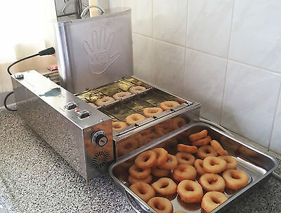 **1150 d/hour Fully Automatic Professional Mini Donut Machine EU made commercial