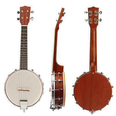 4 Strings Maple Banjo High Quality Maple Wood Pro Exquisite Banjolele Ukulele