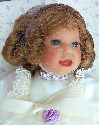 """ADORABLE 2003 Club Doll 8"""" BABY'S First Prayer in Box with Accessories"""