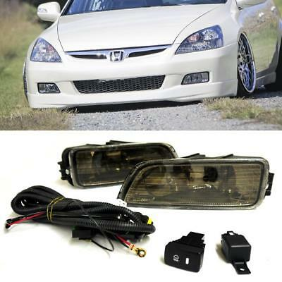 FOR HONDA Accord DR Acura TL Clear Fog Lights Lamps W - 2003 acura tl front bumper