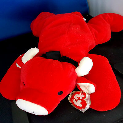 """RED ***TY PILLOW PAL*** Style 3021 approx 12"""""""
