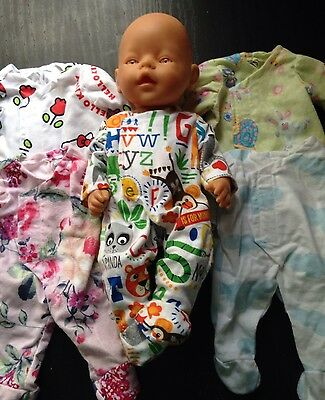 Homemade Baby Born Coverall - 5 Pattern Choices