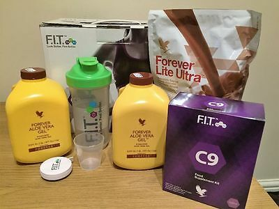 Brand New Forever Living Clean 9 C9 Detox Cleansing Chocolate Newest Program