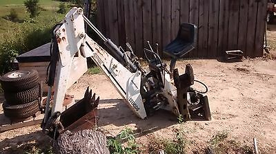 "Woods BACKHOE FOR SKID STEER LOADERS, QUICK TACH, 16"" BUCKET Lowered price"