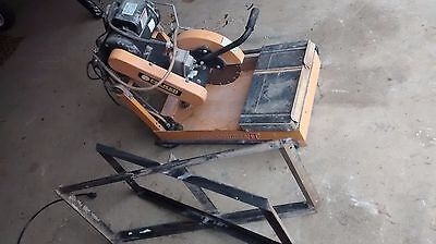Felker Mason Mite II Wet Saw  masonry saw,landscape,brick,tile with stand Nice