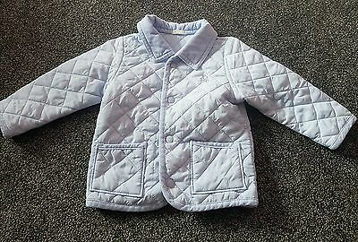 Benetton Baby quilted boys jacket 9-12 months