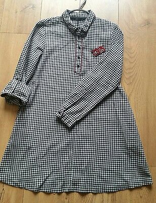 Zara Basic Collection Ladies tunic dress size uk10 checks