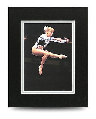 Shannon Miller Signed 10x8 Photo Display Olympics Memorabilia Autograph + COA