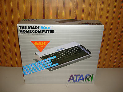 *NIB* Atari 800XL Vintage Home Computer 64K RAM *FACTORY SEALED*