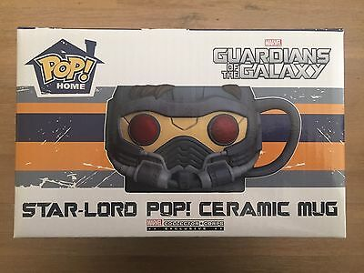 Star-Lord Pop! Ceramic Mug - Marvel Collector Corps, Guardians of the Galaxy