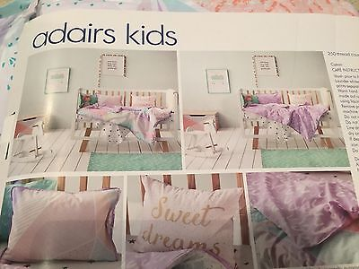 Adairs cot Quilt Cover Set